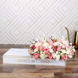 ELITE ARTIFICIAL FLOWER GIFT TRAY