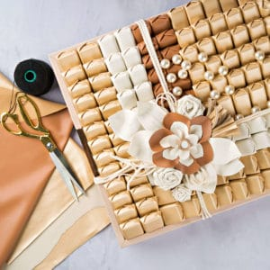 Pure Leather Tray