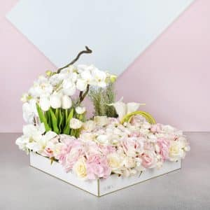 Artificial Flower Tray - Large