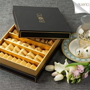 Buono Elite Black Chocolate Box