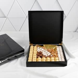 Royal Black Chocolate Box